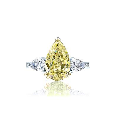 Золотое кольцо Капля KOJEWELRY™ 5068