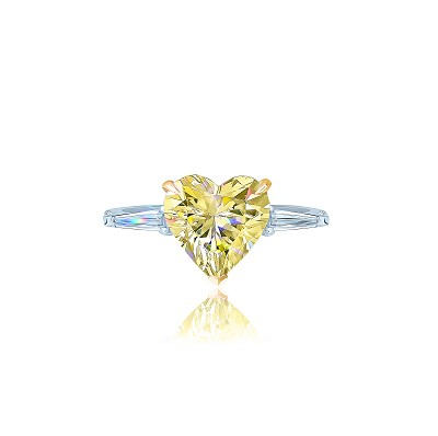 Золотое кольцо Heart mini KOJEWELRY™ 5072