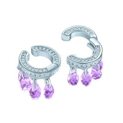 Мини-кафф Капли violet KOJEWELRY™ 40505
