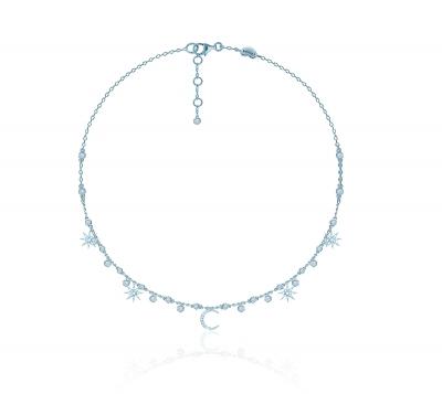 Колье  Star&Moon серебро 925 KOJEWELRY™ 62500