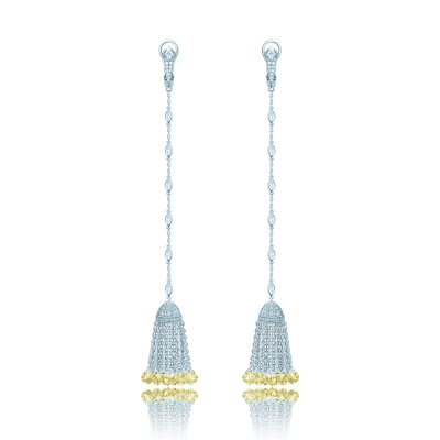 Серьги Кисточки серебро 925 KOJEWELRY™ 41103