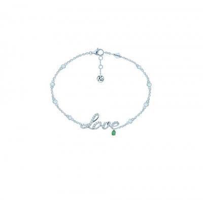 Браслет на ногу Love  серебро 925  KOJEWELRY™ 20600