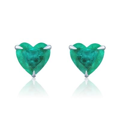 Пусеты Hearts mini серебро 925  KOJEWELRY™ 30202