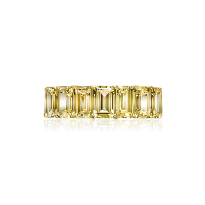 Кольцо-дорожка огранки Изумруд серебро 925 KOJEWELRY™ 30603