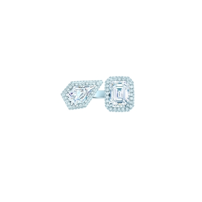 Кольцо Moi et Toi серебро 925 KOJEWELRY™ 70200