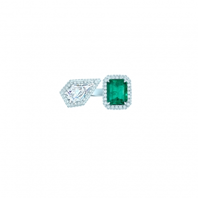 Кольцо Moi et Toi серебро 925 KOJEWELRY™ 70202