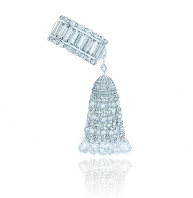 Кольцо с кисточкой LUXURY новой огранки, серебро 925. KOJEWELRY ™ 610129