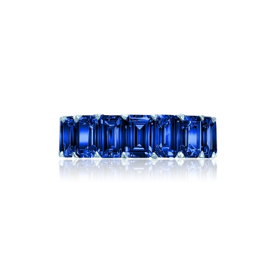 Кольцо-дорожка огранки Изумруд серебро 925 KOJEWELRY™ 30627