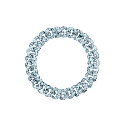 Браслет BAGUETTE CHAINS 12mm серебро 925 KOJEWELRY™ 610147