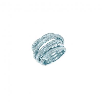 Кольцо WEAVE серебро 925 KOJEWELRY™ 610174