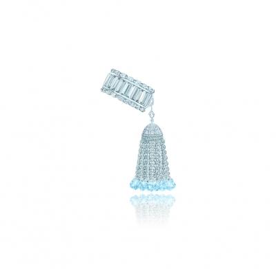 Кольцо с кисточкой и багетами серебро 925 KOJEWELRY™ 42201
