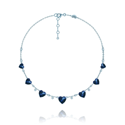 Колье Heart серебро 925 KOJEWELRY™  610187