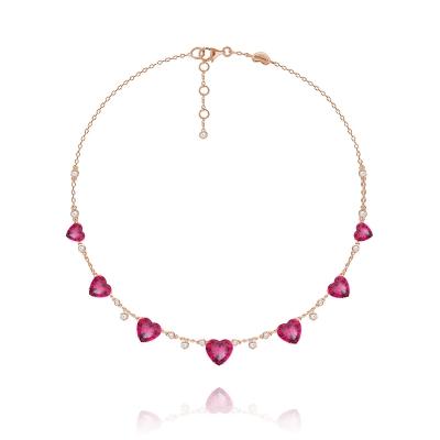 Колье Heart серебро 925 KOJEWELRY™  610188