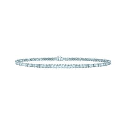 Чокер Tennis BAGUETTE серебро 925 KOJEWELRY™ 610216
