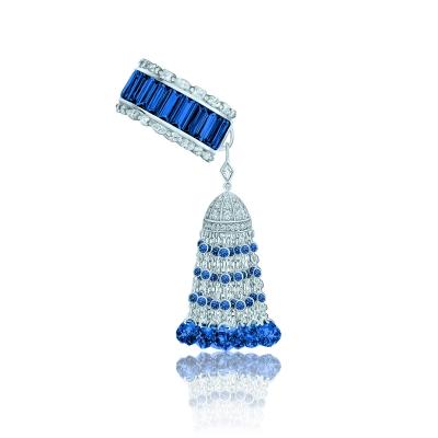 Кольцо Кисточка  Luxury серебро 925 KOJEWELRY™ 610220