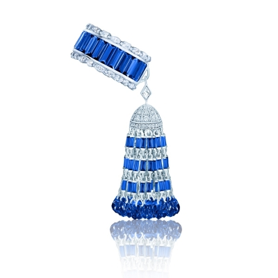 Кольцо Luxury с Кисточкой серебро KOJEWELRY™ 610228
