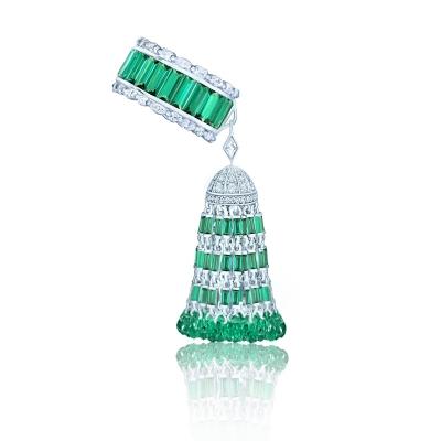 Кольцо Luxury с Кисточкой серебро KOJEWELRY™ 610233