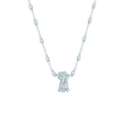 Колье WEAVE серебро 925 KOJEWELRY™ 610249